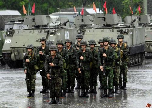 Thailand's navy chief Narong Pipatanasai on Wednesday said it was most unlikely the military would stage a coup even if the anti-government protests continue after the King's birthday celebrations on Thursday - See more at: http://www.freedistrict.com/news/asia/thailand/thailand-navy-chief-says-military-coup-unlikely-5483.html#sthash.0IAcjTYn.dpuf