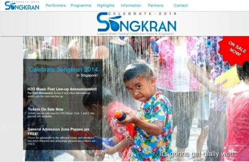 """The Singapore """"Celebrate Songkran 2014"""" event has been organised by a private company and will be held at the Padang open field opposite Singapore's City Hall on April 12 and 13 Please credit and share this article with others using this link:http://www.bangkokpost.com/news/local/400518/tat-considers-legal-action-over-singapore-songkran. View our policies at http://goo.gl/9HgTd and http://goo.gl/ou6Ip. © Post Publishing PCL. All rights reserved."""