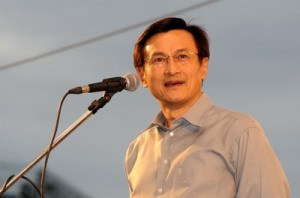 Education Minister Chaturon Chaisang, an outspoken critic of the military's intervention in politics, remained in hiding.