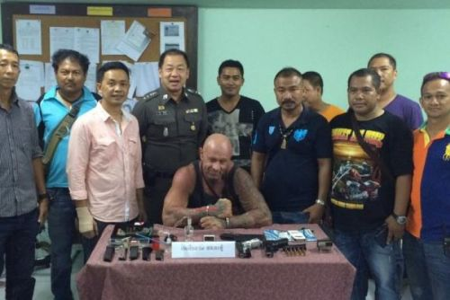 Australian Mark Coutelas Arrested in Phuket on Drugs and Weapons Charges