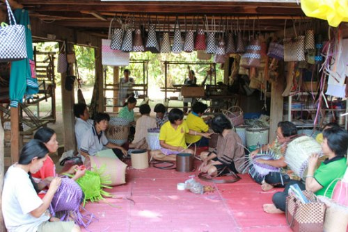 Students at many schools in Chiang Rai province had to commence their first day of the school term in makeshift classrooms on Thursday