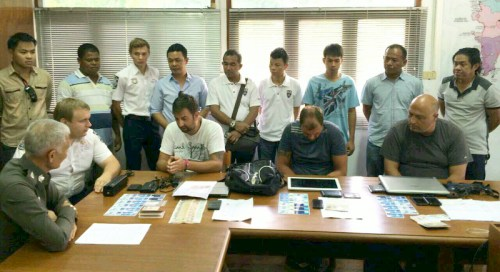 Three Bulgarian Arrested in Phuket for Credit Card Skimming