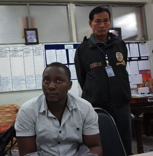Onyekachi Nathaniel Amadi, 37, has been charged with fraud, using a false identity, and disseminating false information that caused damage to others.