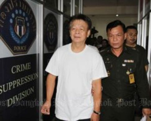Opas Charnsooksai was arrested by the military in a shopping mall in eastern Bangkok Wednesday