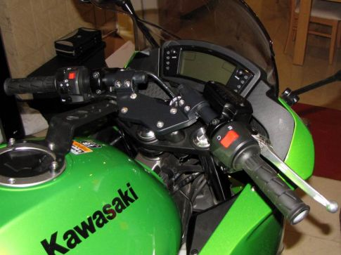Rescue workers said the 400cc Kawasaki Ninja that he was riding  had no license plate and was badly damaged.