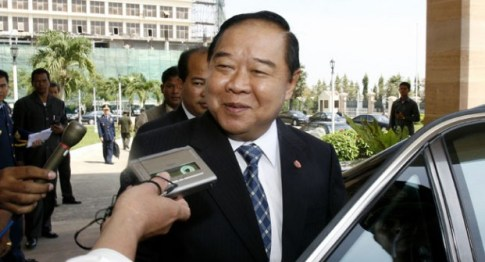 Gen. Prawit Wongsuwan, a senior member of the National Council for Peace and Order (NCPO)