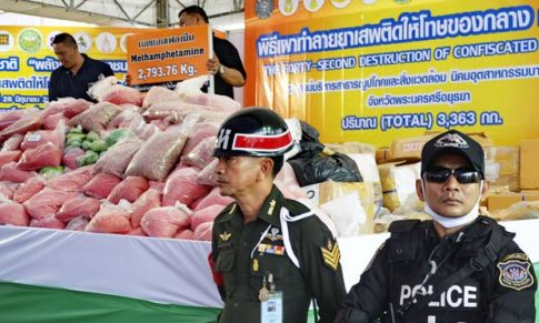 Meth drug makers lure children in Thailand with sweet-coated yaba pills
