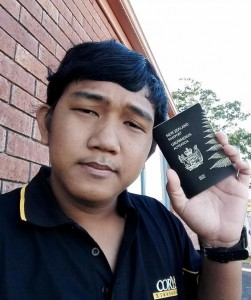 Ekapop, 23, was charged with insulting the Thai monarchy for a speech he made at a Redshirt rally in late 2013