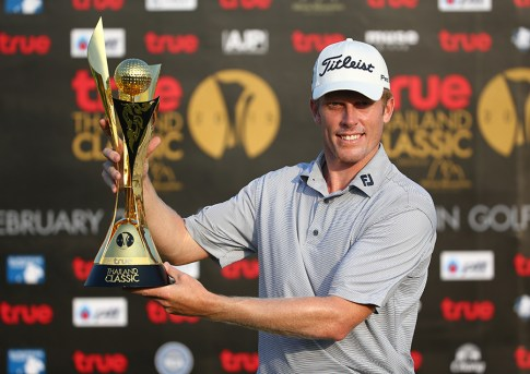 Andrew Dodt closed with a bogey-free, 5-under 67 on Sunday to win the inaugural Thailand Classic.