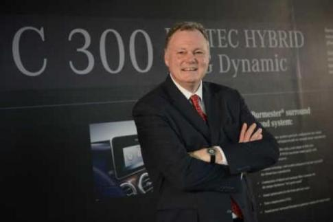 Michael Grewe, president and chief executive of Mercedes-Benz (Thailand)