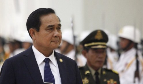 General Prayuth Chan-ocha, Thai coup leader and self-appointed prime minister.