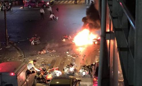 Deadly Bomb Explosion in Central Bangkok, 12 Dead, over 30 Wounded