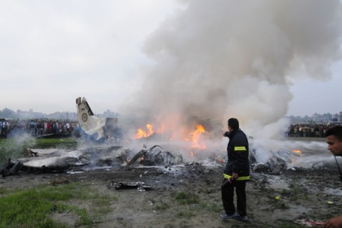 A Russian airliner crashed on Saturday in Egypt's restive Sinai Peninsula, the office of the prime minister said in a statement.
