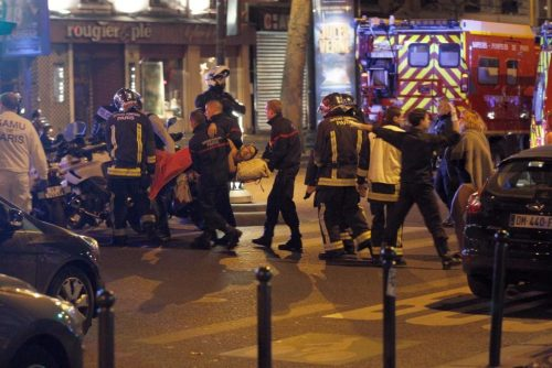 Over a Hundred Dead after Terrorist Explosions and Mass Shootings in Paris