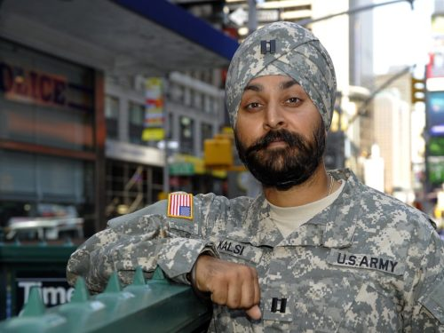 TO USE WITH AFP Beards and the US military: a religious liberty win for Sikh officer