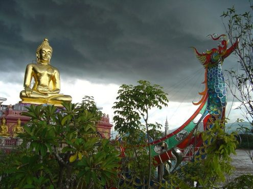 Chiang Rai will likely experience thunderstorms, strong wind and occasional hail