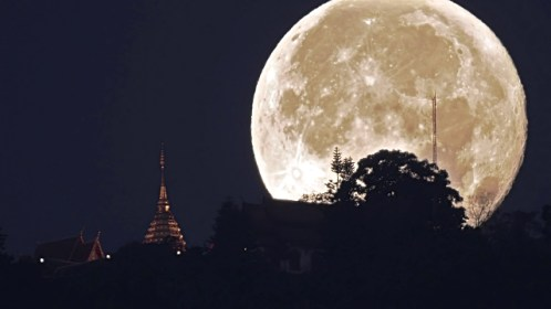 The Moon will appear up to 14 percent bigger and 30 percent brighter than an average full moon