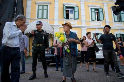Thai Military Court Postpones Decision to Prosecute 84 Year-Old Historian for Questioning 16th-Century Battle
