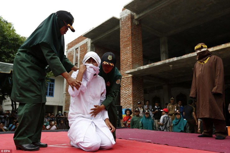 Malaysian Women Caned for Attempting to Have Lesbian Sex