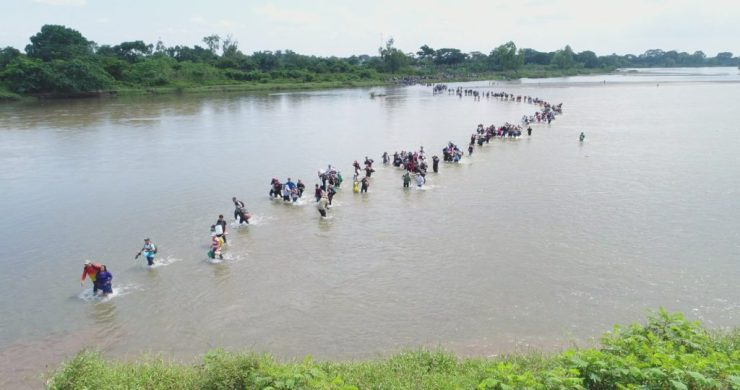 Patience Wears thin as Migrant Caravan Heads North Towards the United States