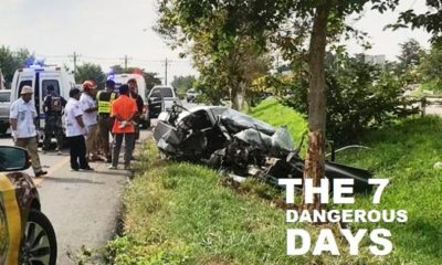 Songkrans Latest Road Toll – 2,702 Traffic Accidents, 297 Dead and 2,807 Injured