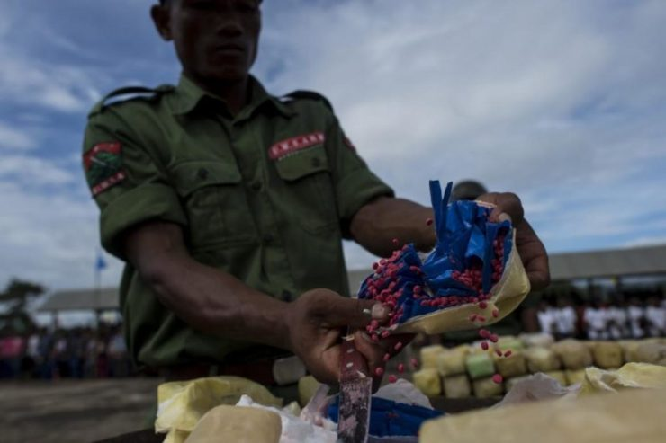 Vietnam Struggling With Methamphetamine Epidemic with Drugs Coming from The Golden Triangle