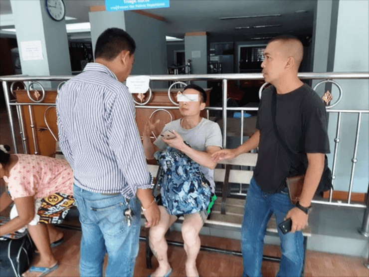 """Chinese Tourist Arrested After Pushing his """"Pregnant Wife"""" off a Cliff in Northeastern Thailand"""