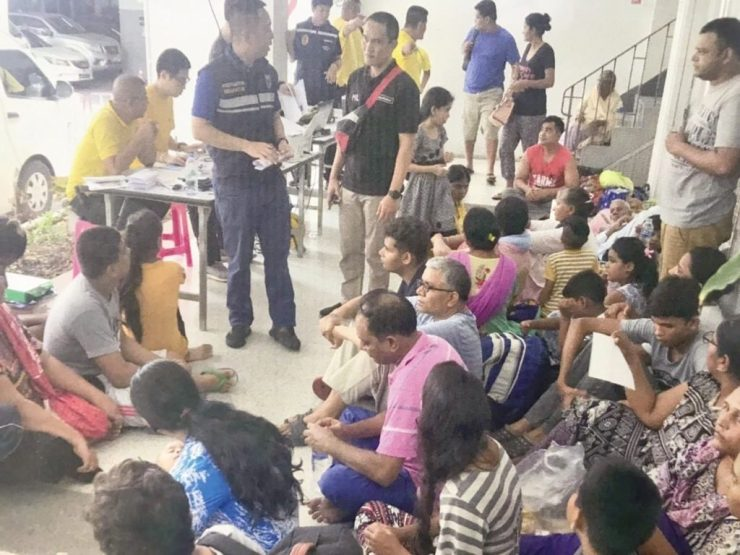 48 Pakistani Nationals Detained by Thailand Immigration Police