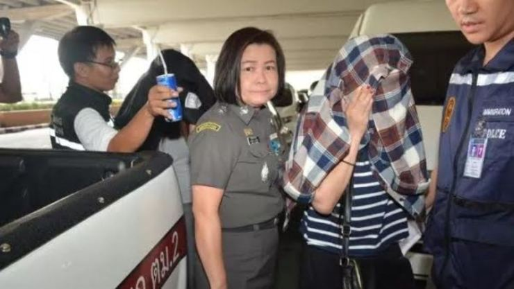 Women Arrested for the Forced Prostitution of Thai Women and Child
