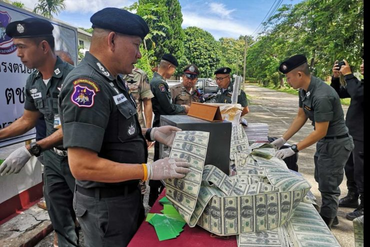 Woman Arrested with Over $500,000 Counterfeit US Banknotes