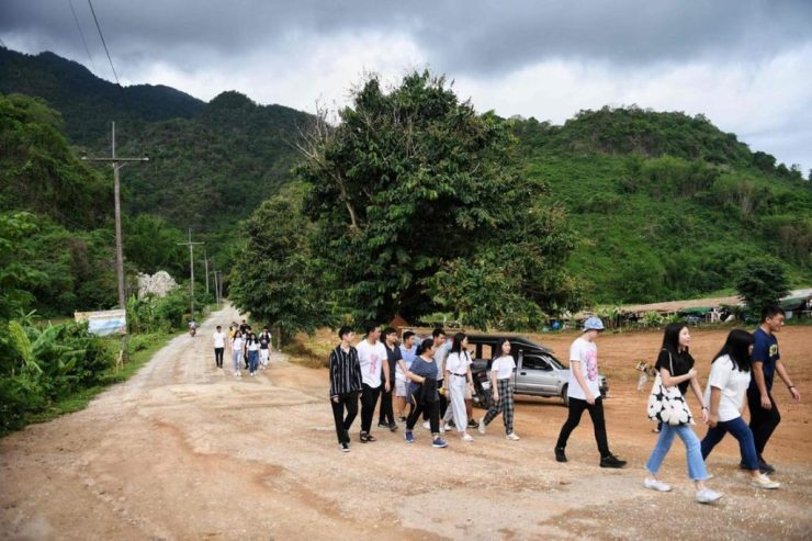 Controversy Over Tham Luang Cave Landscape Development Project