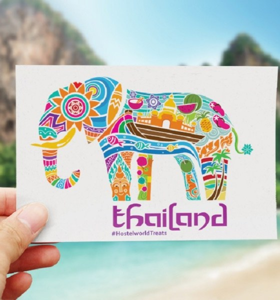 postcard from Thailand