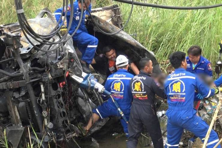 chiang rai times - vehicle accident