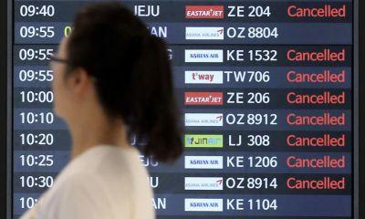 South Korea cancels Thai flights