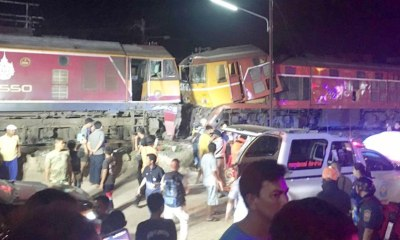 train crash thailand