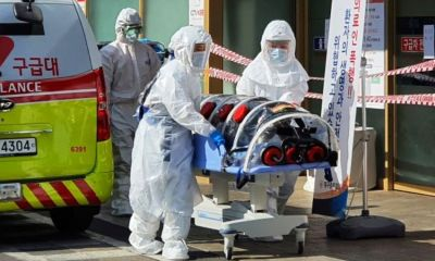 South Korea reports first coronavirus death