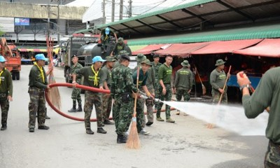 Army to disinfect Bangkok roads nightly