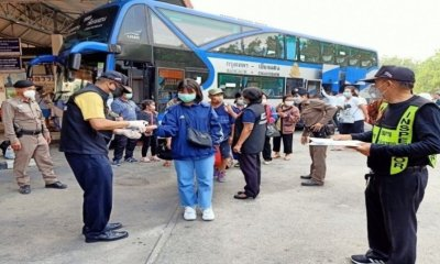 Inter-Provincial Coach Bus Services northern thailand