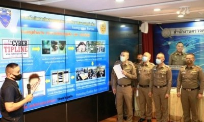 Thailand, Immigration police, Porn, Arrest, Child abuse