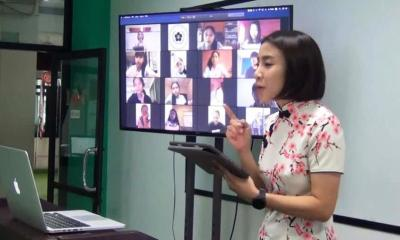 Schools in Thailand adopt classes online