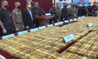 Police, southern Thailand, Drugs Seized