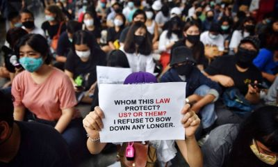 Anti-government protests, bangkok, thailand