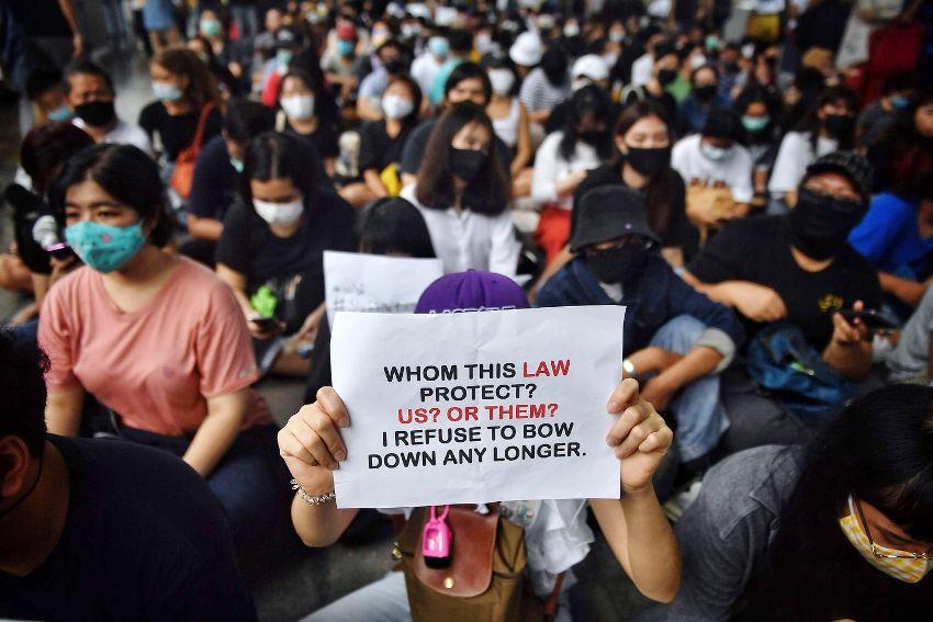 Anti-government protests, bangkok, thailand