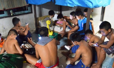 Children Smartphones, Addiction, Thailand