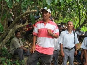 Campesinos consideran que la construcción de hidroeléctricas afectará el ecosistema de su región.Ángeles Mariscal (Chiapas PARALELO)