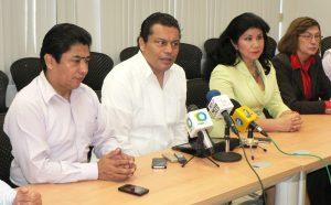 Empresarios tuxtlecos denuncian afectaciones por el plantón y las acciones. Foto: Archivo/Chiapas PARALELO magisteriales.