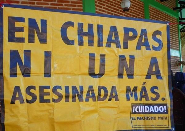 Demandan se declare de forma oficial la Alerta de Violencia de Género (AVG) para Chiapas.