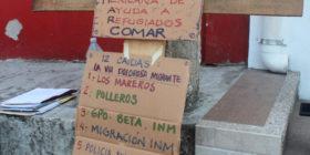 El camino que emprenden miles de migrantes al cruzar por México, es un viacrucis. Foto: Benjamín Alfaro