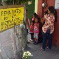 Rechazo al presidente Peña Nieto