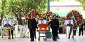 """Despiden a policías fallecidos por accidente en """"La Pochota"""" (2)"""